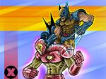 Ironman Vs Wolverin by Kosmandis