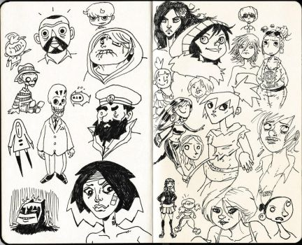 Sketchbook 6 by The-Mirrorball-Man