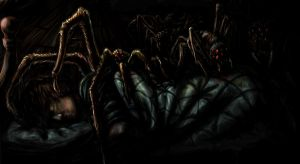 Spiders by kerosyas