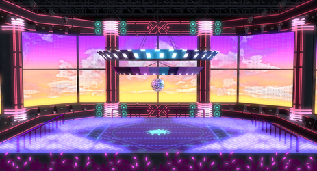 MMD PDX Satisfaction Stage DL! by Philippe-N-12