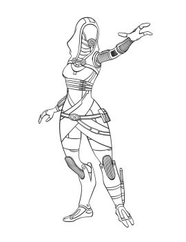 Tali'Zorah final lines for a cover project by animemagix
