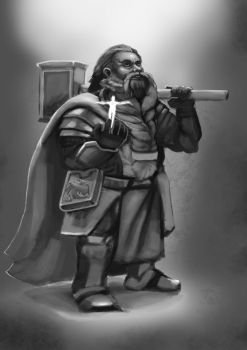 Dwarf cleric by negorobson