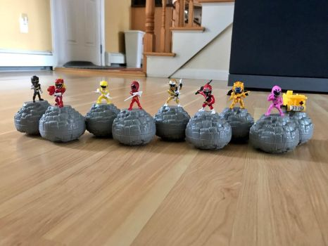 Power Rangers Micro Morphin' Figures by SentaiFive