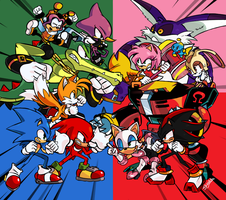 Sonic Heroes by Damian2841