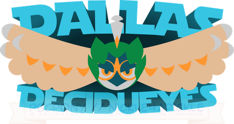 Dallas Decidueyes Logo by pbcpony