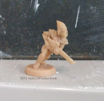 Defender of Iyanden - First miniature attempt by ApricotProductions