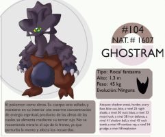 Pokemon Oryu 104 Ghostram