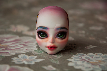 Monster High Skeleton Create-A-Monster repaint by theugliestwife
