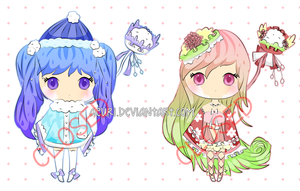 [ADOPTS] Poffles Set 1 - CLOSED by Kaoyi