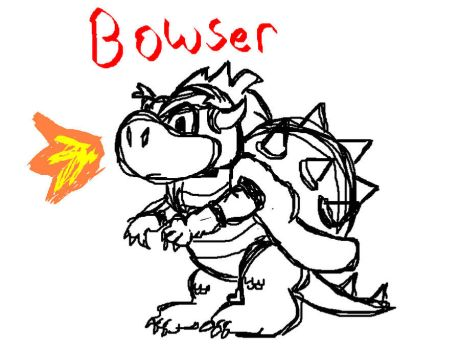 Bowser by Quizalo7