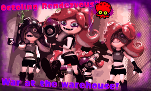 [SFM/Photoshop] Splatoon: Octoling Rendezvous! by VeleJarxcy