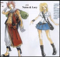 Fairy Tail - Natsu and Lucy by Piratenking