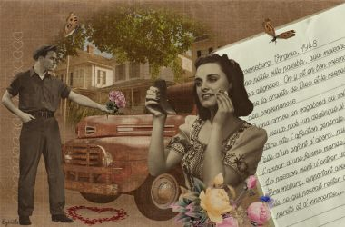 Collage retro by Eymele