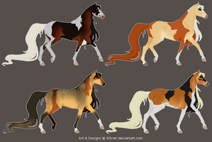 Chimera Adoptables- 1/4 CLOSED by 8Siren
