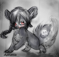 Aleuella : My xweetok by Bitty-Ko