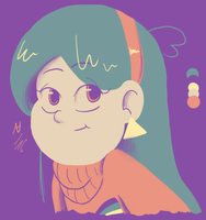 Colour palette Mabel by thalle-my-honey