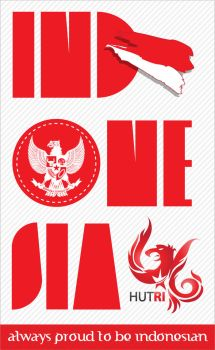 Independence Day of Indonesia by Manyun