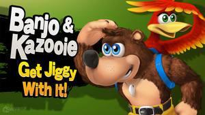 Banjo and Kazooie Get Jiggy With It by hextupleyoodot