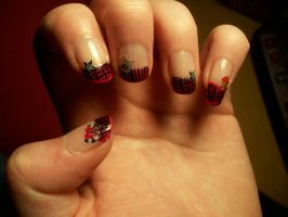 Rock nailart by Lisa99