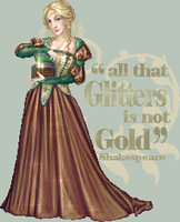 All that Glitters is not Gold by FionaCreates