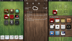 iOS6: Wooden dock by nienque