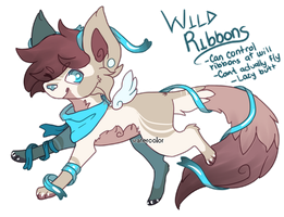 Wild Ribbons - Design Auction (Closed) by peipaw