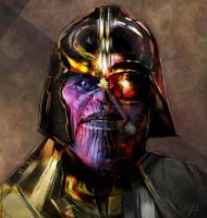 Darth Thanos by RedSaucers