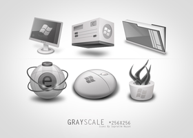 Grayscale by HYDRATTZ