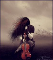 The last song by vivi-art