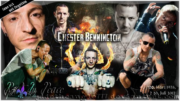 Chester Bennington Rest In Peace Gone But Not Forg by JadeTheAngle777