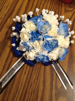 My Hand-made Corsage for Prom by Fluffer2004