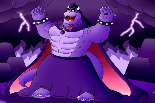 Fear the King of Nightmares by StarLightDragon64