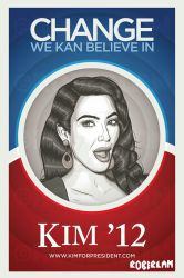 Kim for Prez by roberlan