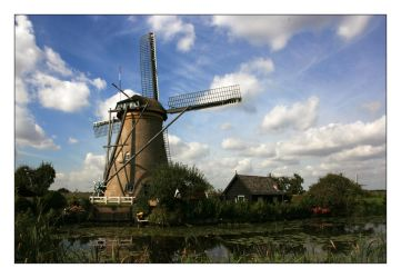 Windmill in Holland by sandor-laza