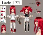 Lacie Reference Sheet by AnjuDere