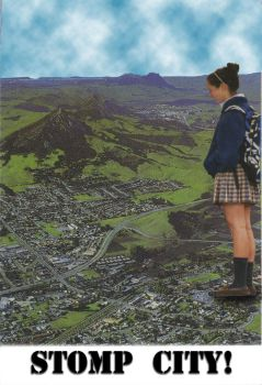 Schoolgirl Teen Giantess Collage by acecorona