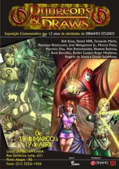 Dungeons and Draws expo by dinamostudio