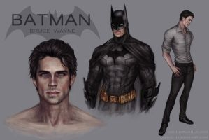Batman (concept) by jasric