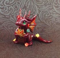 Autumn Dragon 2 by KaijuClayCreations