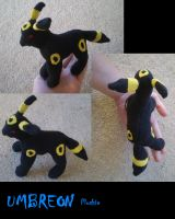 Umbreon Plush by Endivinity