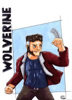 Wolverine (colored) by Giorgia99