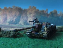 ISU-152 in the morning by Baryonyx62