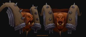 Garrosh Hellscream by CorderoStorm
