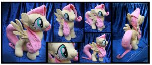 SOLD: Fluttershy Custom Plush by Nazegoreng