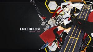 Enterprise Azur Lane by eriri94
