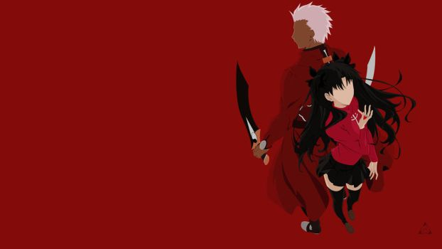 Fate Stay/ Night - UBW Minimalist Wallpaper V2.0 by xVordred