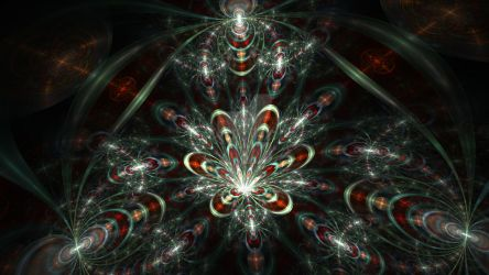 Cat in the Fract (Wide) by Trip-Artist