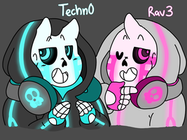 Techn0 and Rav3 | NEW OCS by Star-Babu