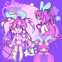 SugarNova - Spacepuff Ref by Megiez