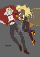 WIP Nero x Yang by ADSouto